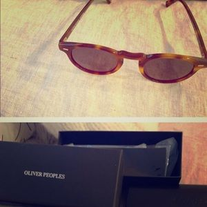 Oliver Peoples unisex sunglasses Gregory Peck